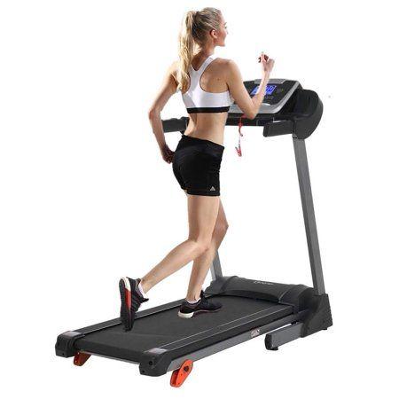 2HP Folding Treadmill Electric Motorized Power 12KM//H Running Fitness Machine