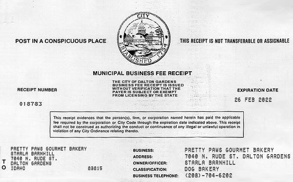 Free Online Receipt Maker Fake Business License Fake Receipt Us Receipt Maker Receipt Bill Template