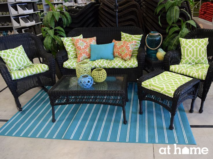 Offer Plenty Of Outdoor Seating Options For Your Guests When You Entertain A Loveseat With
