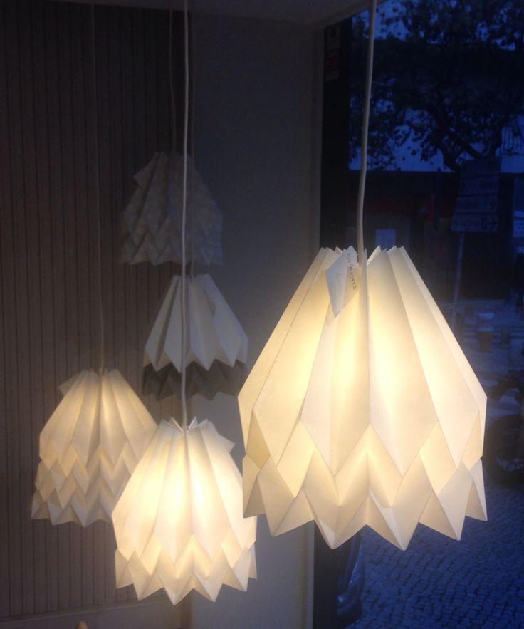 Orikomi lamps At pau de giz Store