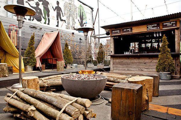 Drake Sky Yard - winterized patio