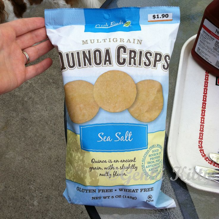 Quinoa Crisps Review