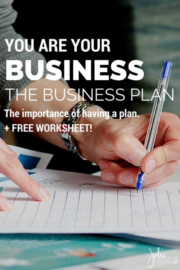 You Are Your Business: The Business Plan
