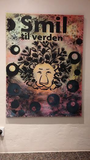 Pop art, løve