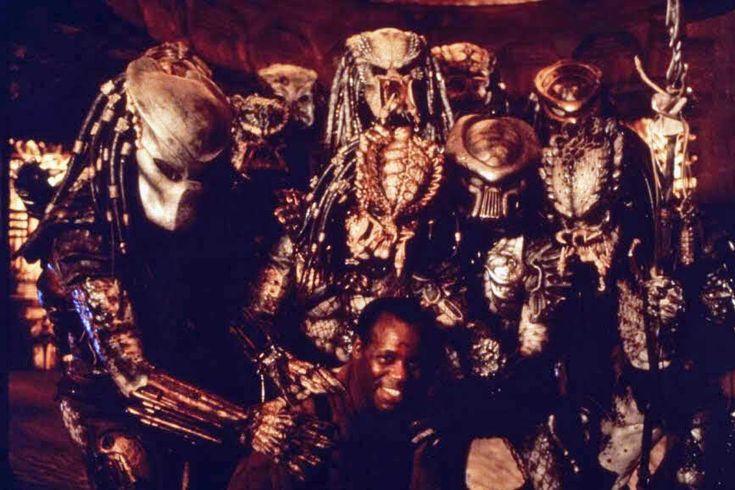 Danny Glover behind the scenes on #Predator 2 (1990)