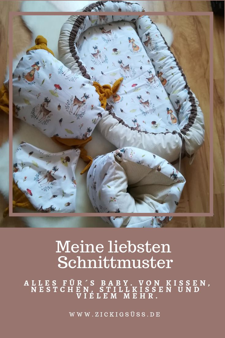 Free sewing pattern for the baby  – Nähanleitungen Schnittmuster DIY