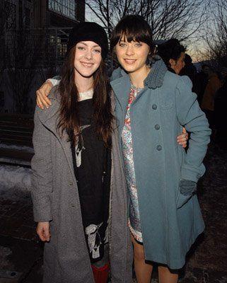 Zooey Deschanel + Jena Malone