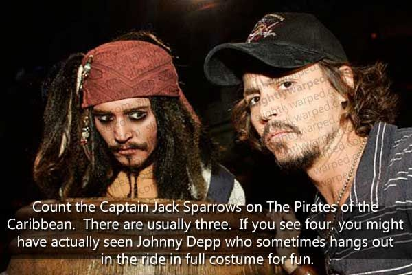 Ohhhhh my god oh my god i would diiieeee!!! I will go to disney just so i can have a chance at possible seeing johnny depp in person