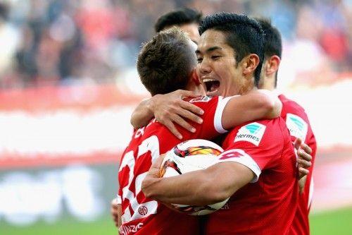 Yoshinori Muto - 1. FSV Mainz 05 - FW - #9 #Muto #M05BSC #Football #Soccer #Bundesliga