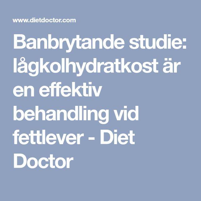 diet vid fettlever