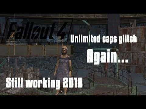 Fallout 4|| unlimited caps glitch, *EASY and FAST* *STILL WORKING