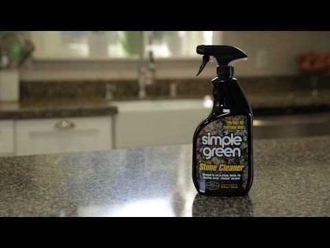 How to Clean Granite Countertops - Simple Green
