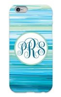 Seascape Monogram #iPhone Case for iPhone and #Galaxy