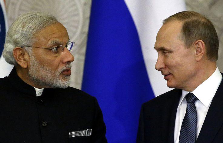 Путин и Моди начали беседу в узком составе   15 октября, 9:11   http://tass.ru/ekonomika/3706884