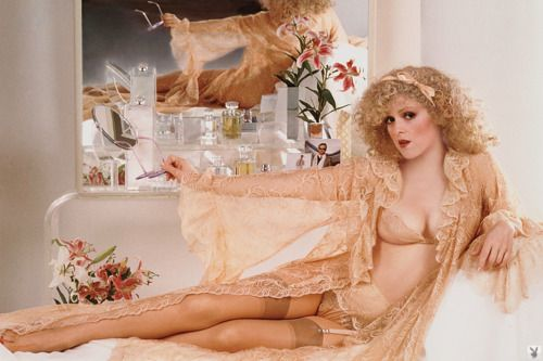 The seventies were a golden age for cheesy lace lingerie and I love Bernadette Peters