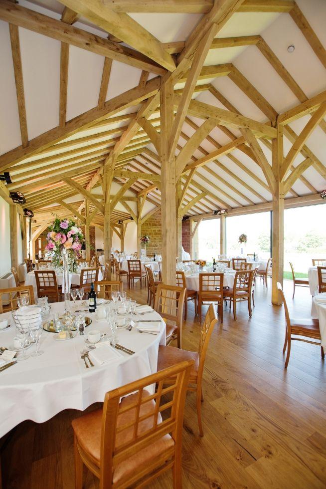 Northamptonshire Wedding Venues Dodford Manor Oak Barn Breakfast Outlook