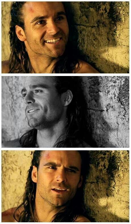 Dusin Clare #Ganicus Nom nom nom nom  @Ashley Farrell  I'll take Ganicus over Crixus anyday. ;)