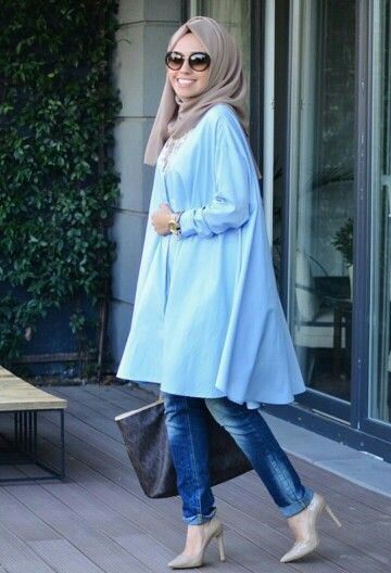 Hijab Fashion 2016/2017: Hulya Aslan  Hijab Fashion 2016/2017: Sélection de looks tendances spécial voilées Look Descreption Hulya Aslan