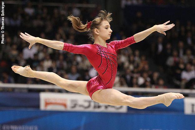 Viktoria Komova.