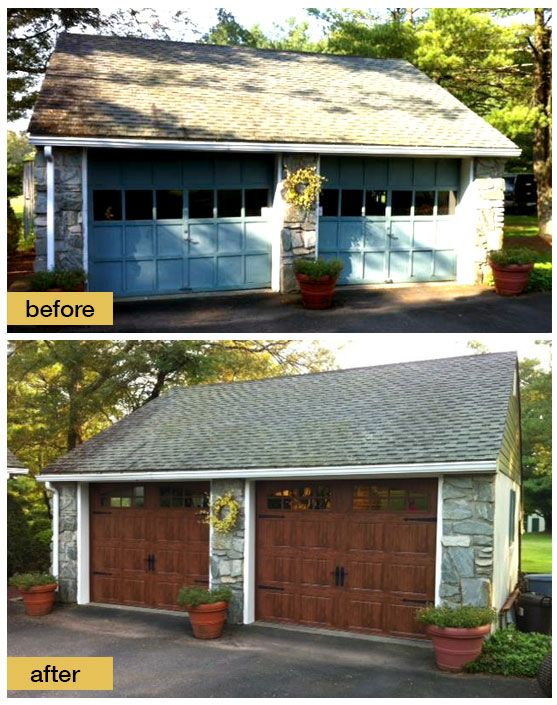 Pin by clopay garage doors and entry doors on garage door for Farmhouse garage doors
