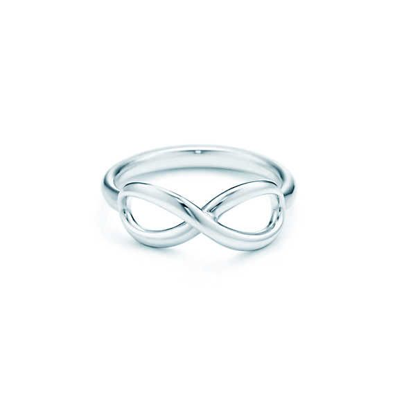 I NEED THIS. This ring signifies that a man truly means that he wants you in his life forever. Nothing says forever like the infinity symbol. Tiffany Infinity ring in sterling silver.