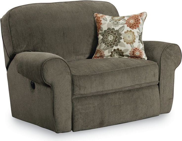 Megan Snuggler® Recliner Surprise your friends with the comfort and style of Lane's Megan Snuggler® Recliner. This oversized chair's design exemplifies the latest fashions for today's home. Consider the detailed welt trim on each cushion and on the rolled arms and the variety of fresh fabrics. Its comfortable seating originates from a cushion with a bevy of individually wrapped coils sporting heavy-duty, long-lasting soft foam. And its ZERO GRAVITY™ mechanism supports legs, back, and neck…