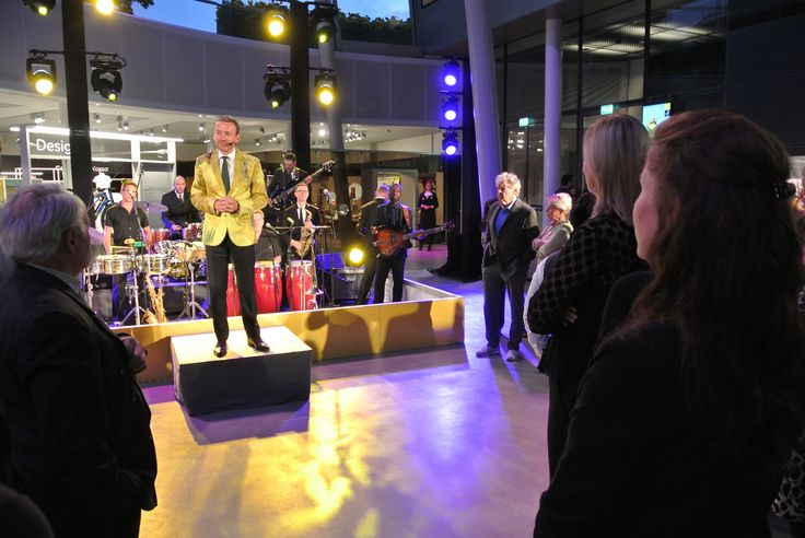 Opening night of the new entrance of the Van Gogh Museum Amsterdam