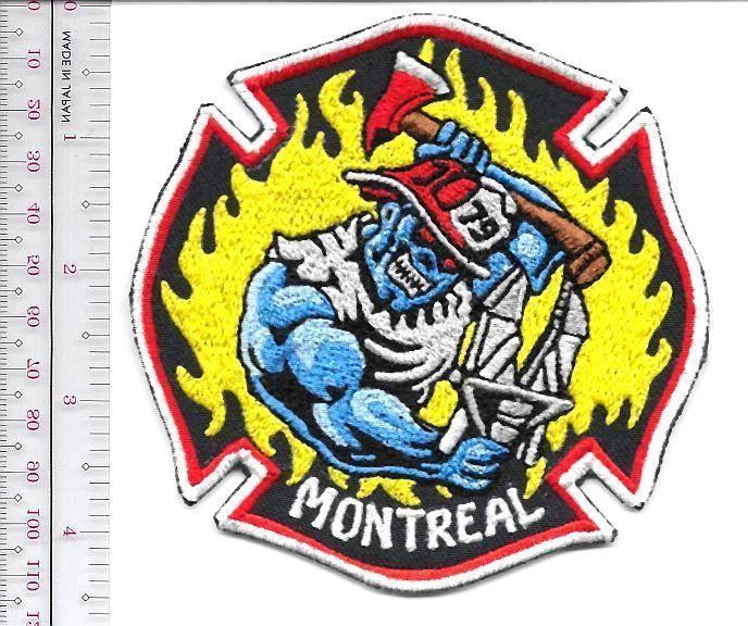 Montreal Fire Department Hampstead Station Caserne 79 Service d'Incendie Quebec