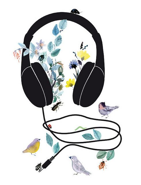 I would just love to hear a piece of music that transports you into a world of butterflies, flowers, and birds...I guess classical.