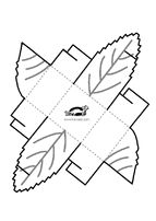 fall box template