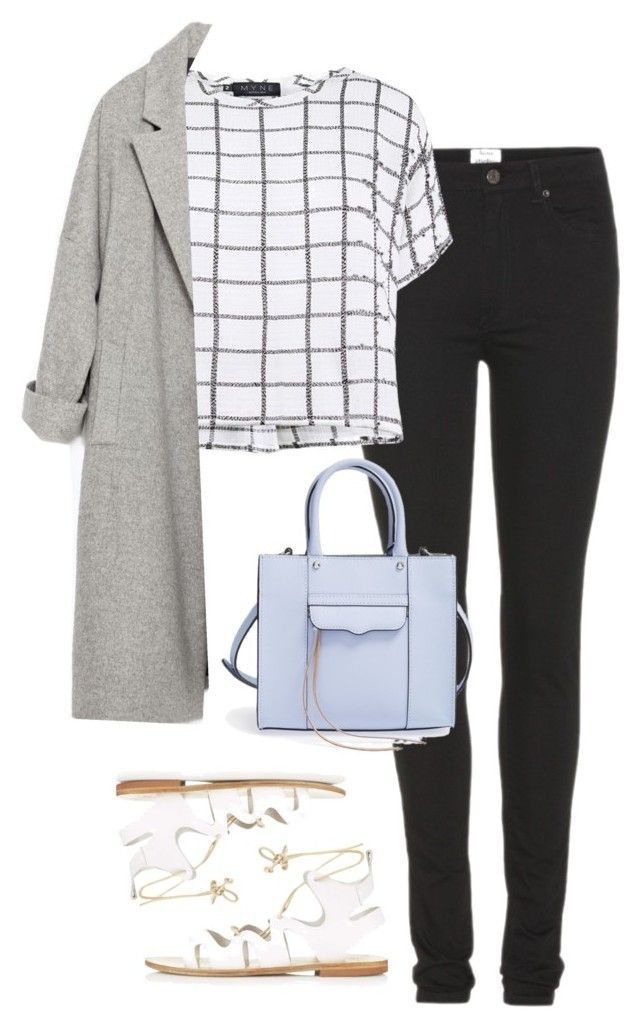 """""""Untitled #1187"""" by zoella-clothes ❤ liked on Polyvore featuring Acne Studios, Myne, Topshop, Zara and Rebecca Minkoff"""