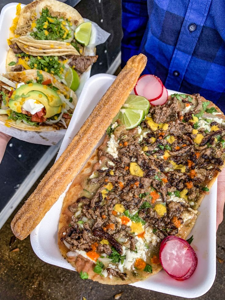 Amazing Taco Truck in West Houston Mexican street food