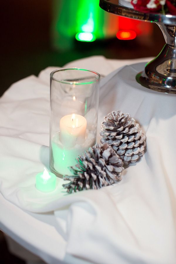 Red Green Christmas In July Themed Wedding At Chautauqua Lake Ny