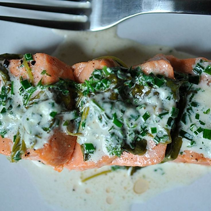 Salmon in Sorrel Sauce recipe on Food52