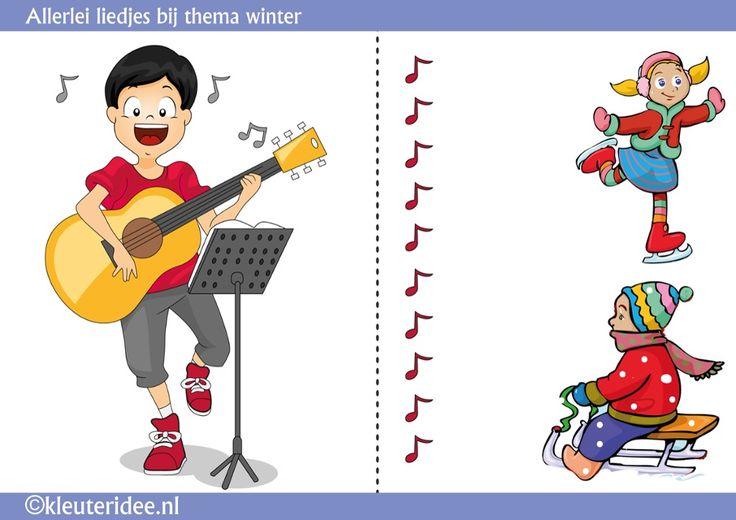 Liedjes bij de winter