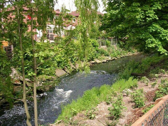 Back River Irk, Blackley, Manchester