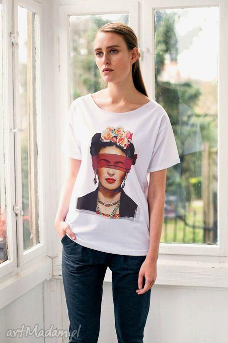 Frida blind oversize t-shirt koszulki gau great you