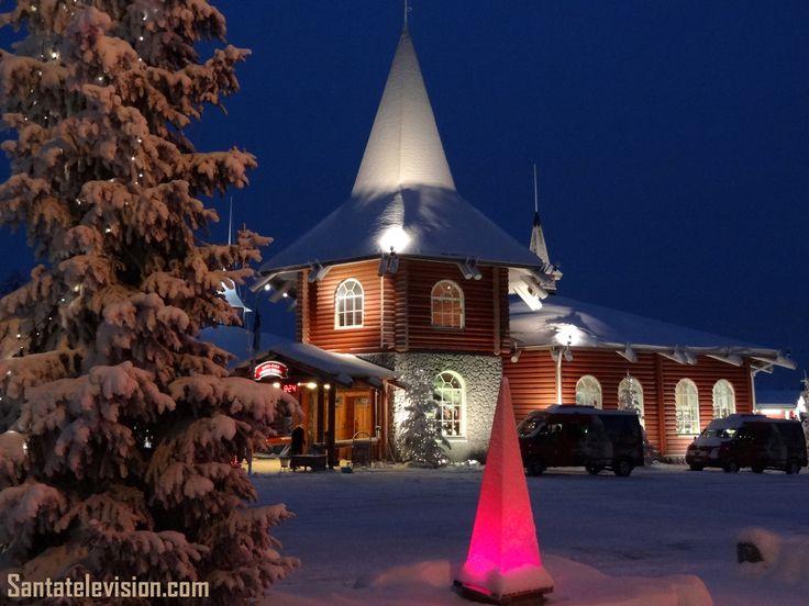 La Maison de Noël au Village du Père Noël à Rovaniemi en Laponie, en Finlande