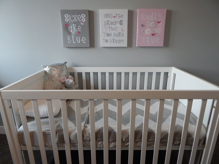Make sure that you keep your baby's crib in your bedroom. It's proven to improve the sleep quality of your children.