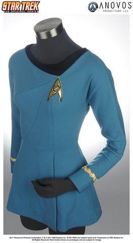 I just really need a good blue Star Trek science officer dress so I can make a gender-bender spock costume for senior dress up day