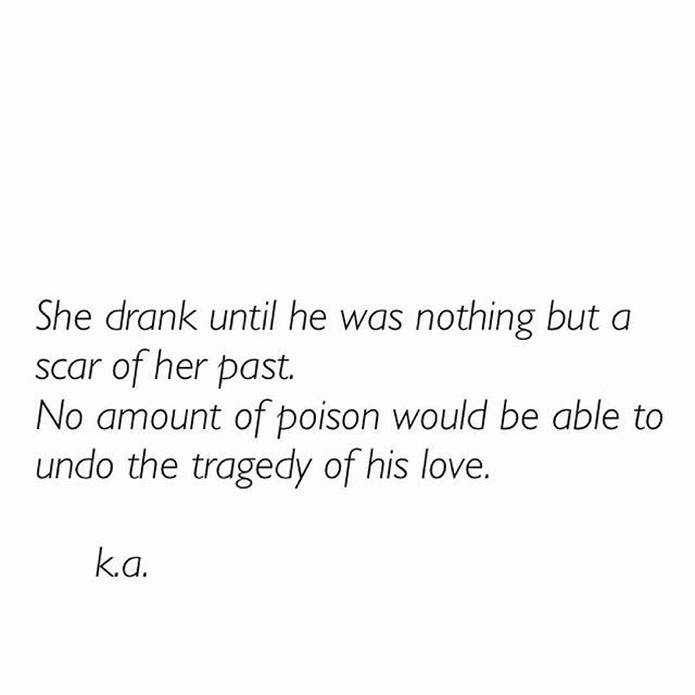 Poison. Modern Poetry.