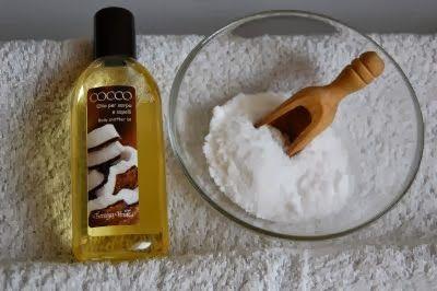 Tutto cominciò...: Scrub corpo all'olio di cocco