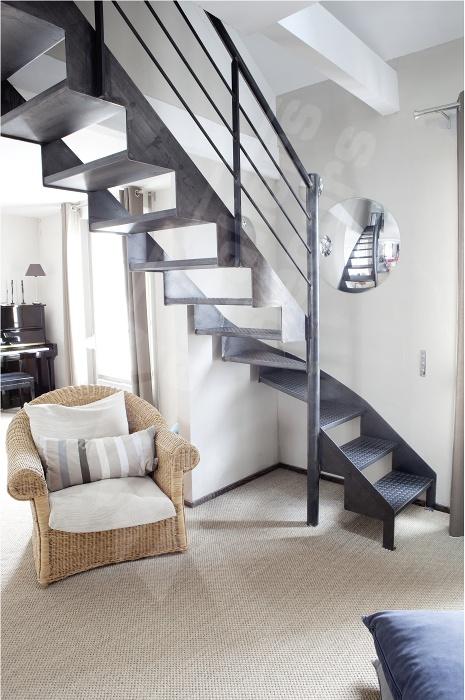 les 25 meilleures id es de la cat gorie tube acier sur. Black Bedroom Furniture Sets. Home Design Ideas