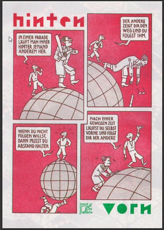 Cartoon from DutchFlemishParade from Comic-Salon in Erlangen, by Joost Swarte