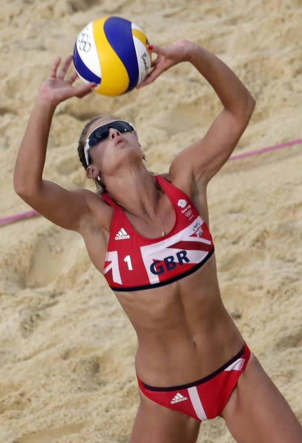 Have hit Sexy beach volleyball payers not absolutely