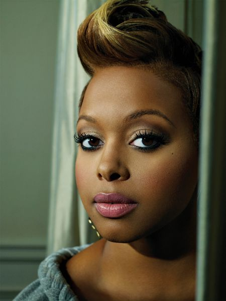 talented chick, even though I didn't really check for her after her 1st cd (Chrisette Michele)