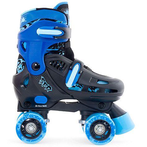 Buy SFR Racing Storm 2 Roller Skates, Blue/Black Online at johnlewis.com