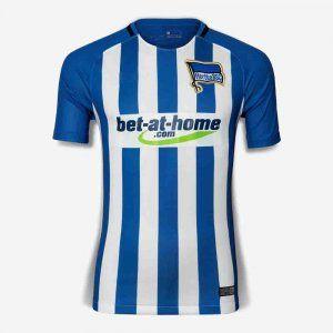 Hertha BSC Berlin 2017-18 Season Home Die Alte Dame Shirt [K658]