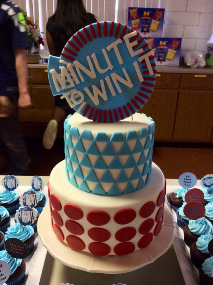 Minute to win it cake..
