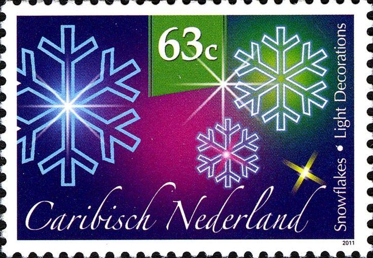Stamp: Snowflakes (Caribbean Netherlands) (December Stamps) Mi:BQ 19,Sn:BQ…